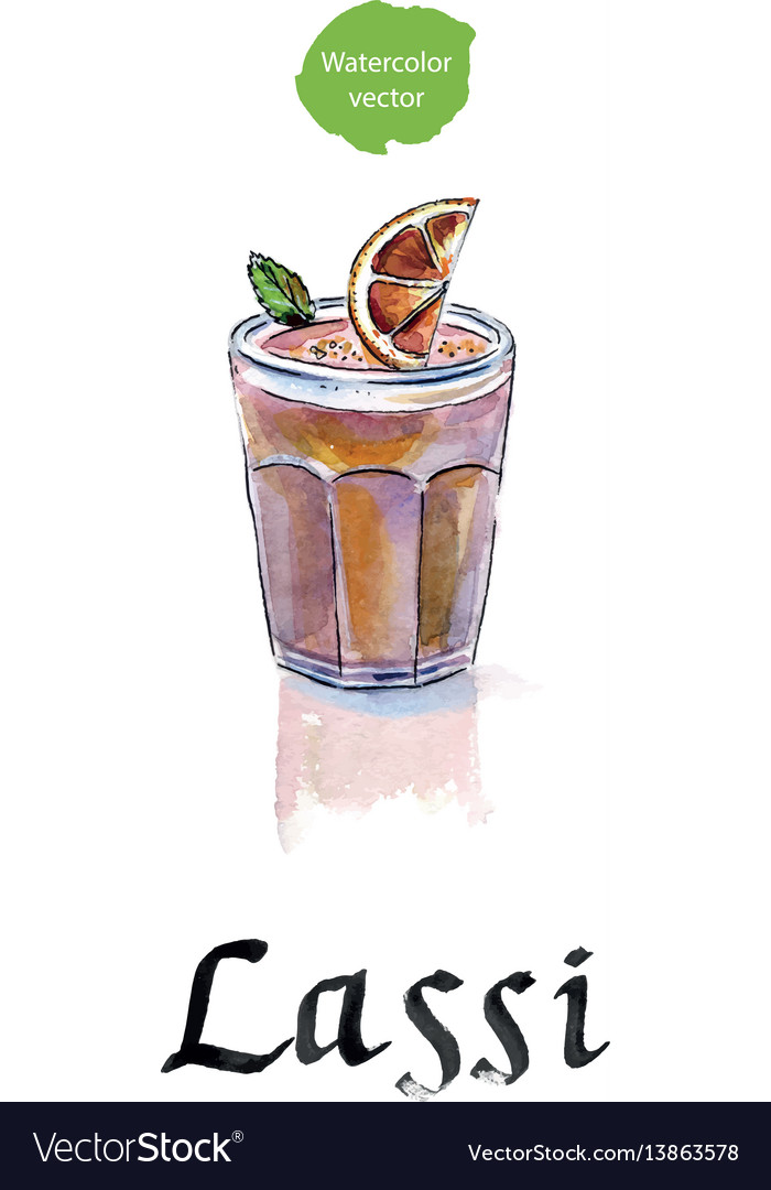 Lassi is a sweet indian drink consisting of beaten