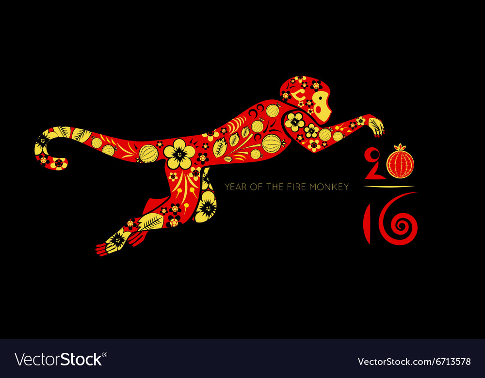 Oriental horoscope Year of the Monkey