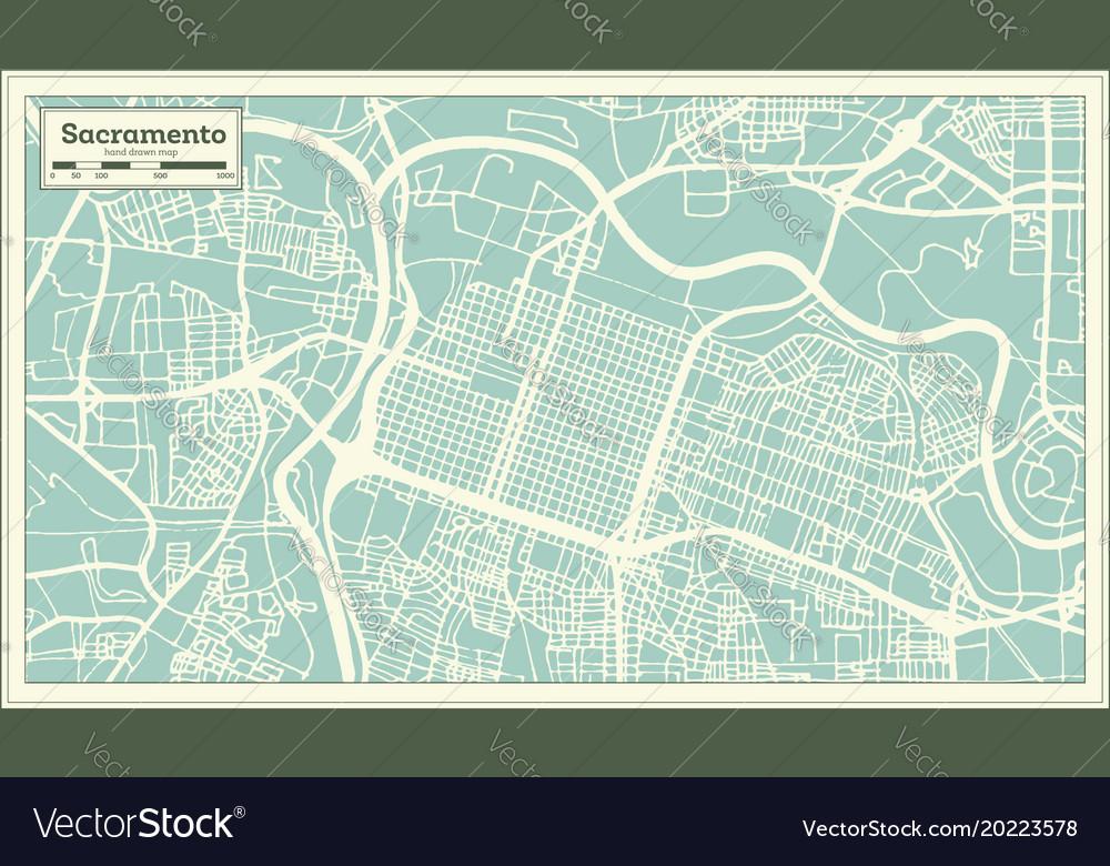 Sacramento california usa city map in retro style on us states california cities, usa map los angeles, usa map san jose, usa map san diego, usa map oakland, usa map san francisco, usa map national city, usa map richmond, usa map sacramento, shapes california cities, zip code map california cities,