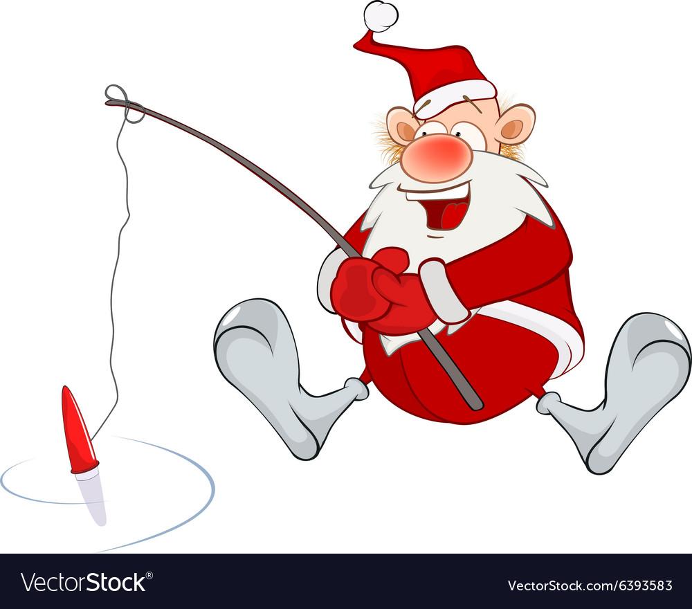 Santa, Fishing & Christmas Vector Images (39)