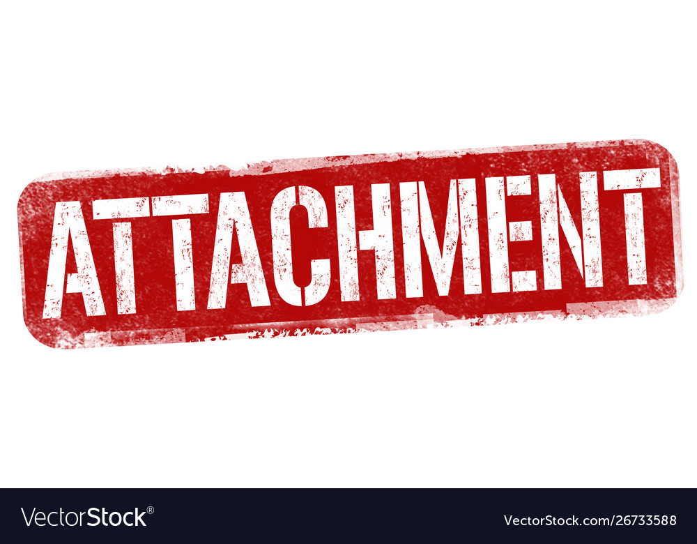 Attachment sign or stamp