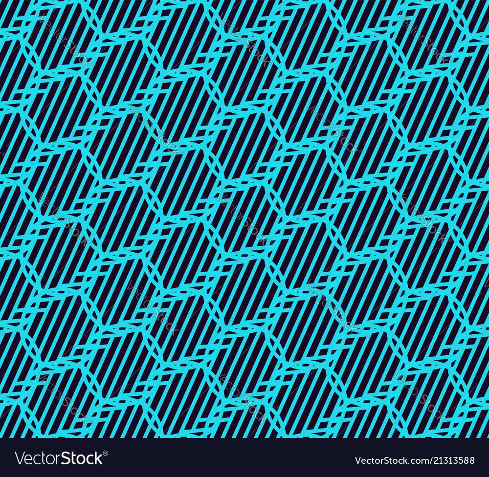 Geometric simple luxury blue minimalistic pattern