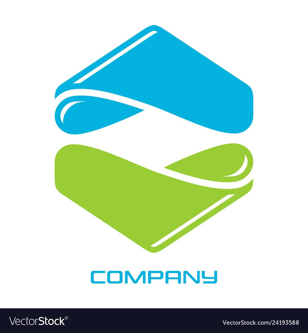 Hexagon real estate logo