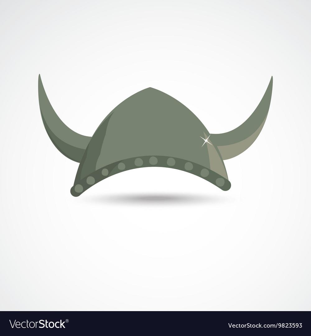 Ancient viking helmet