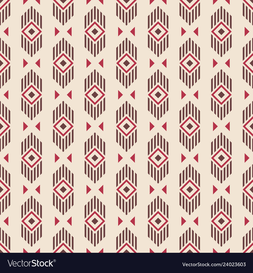 Abstract ethnic geometric pattern
