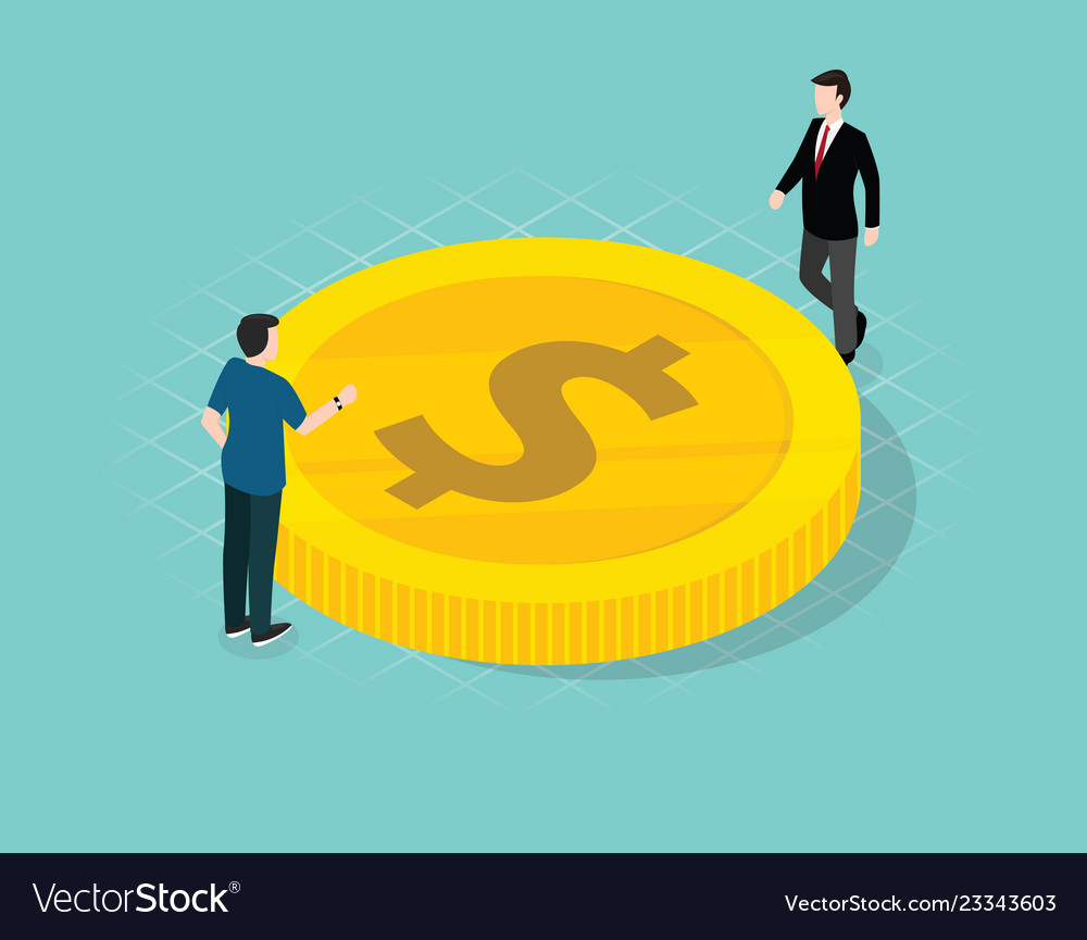 Business man manage and discuss about finance