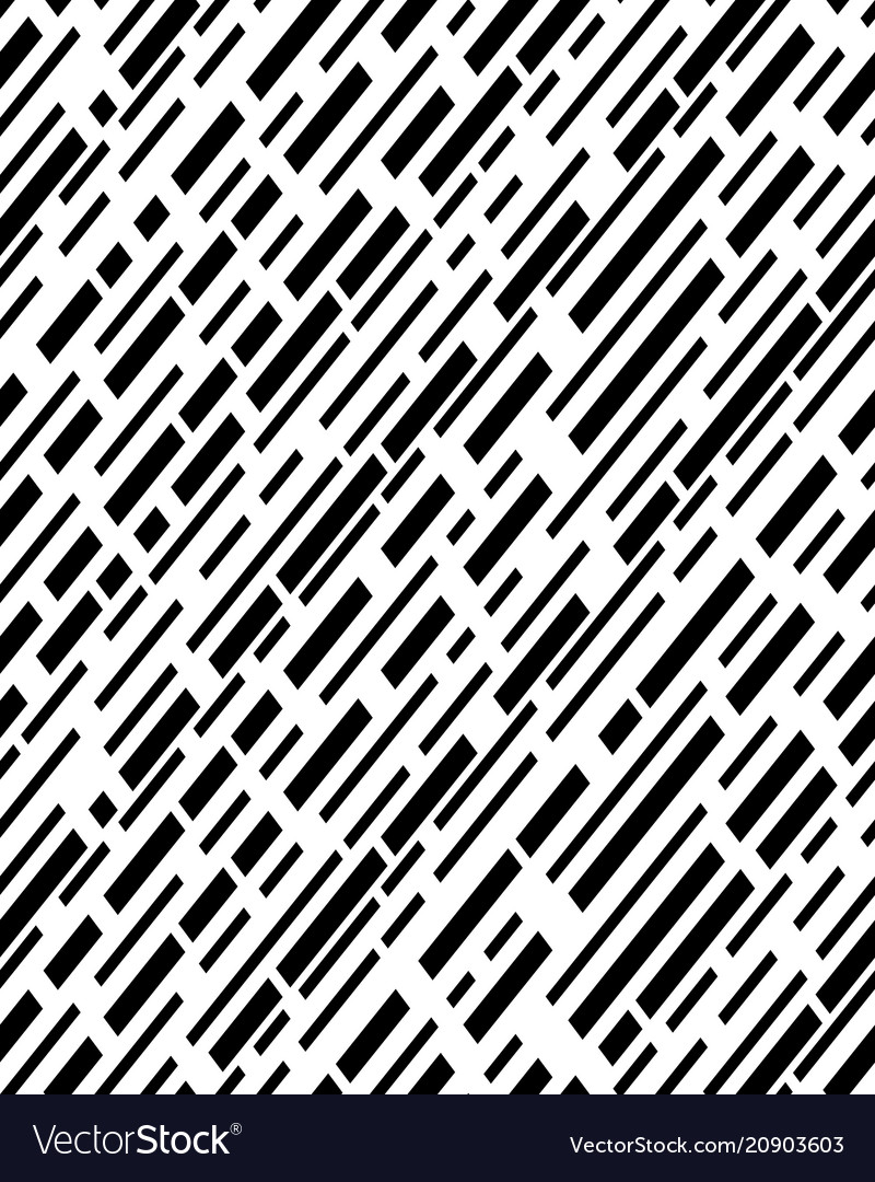 Diagonal interrupted lines pattern