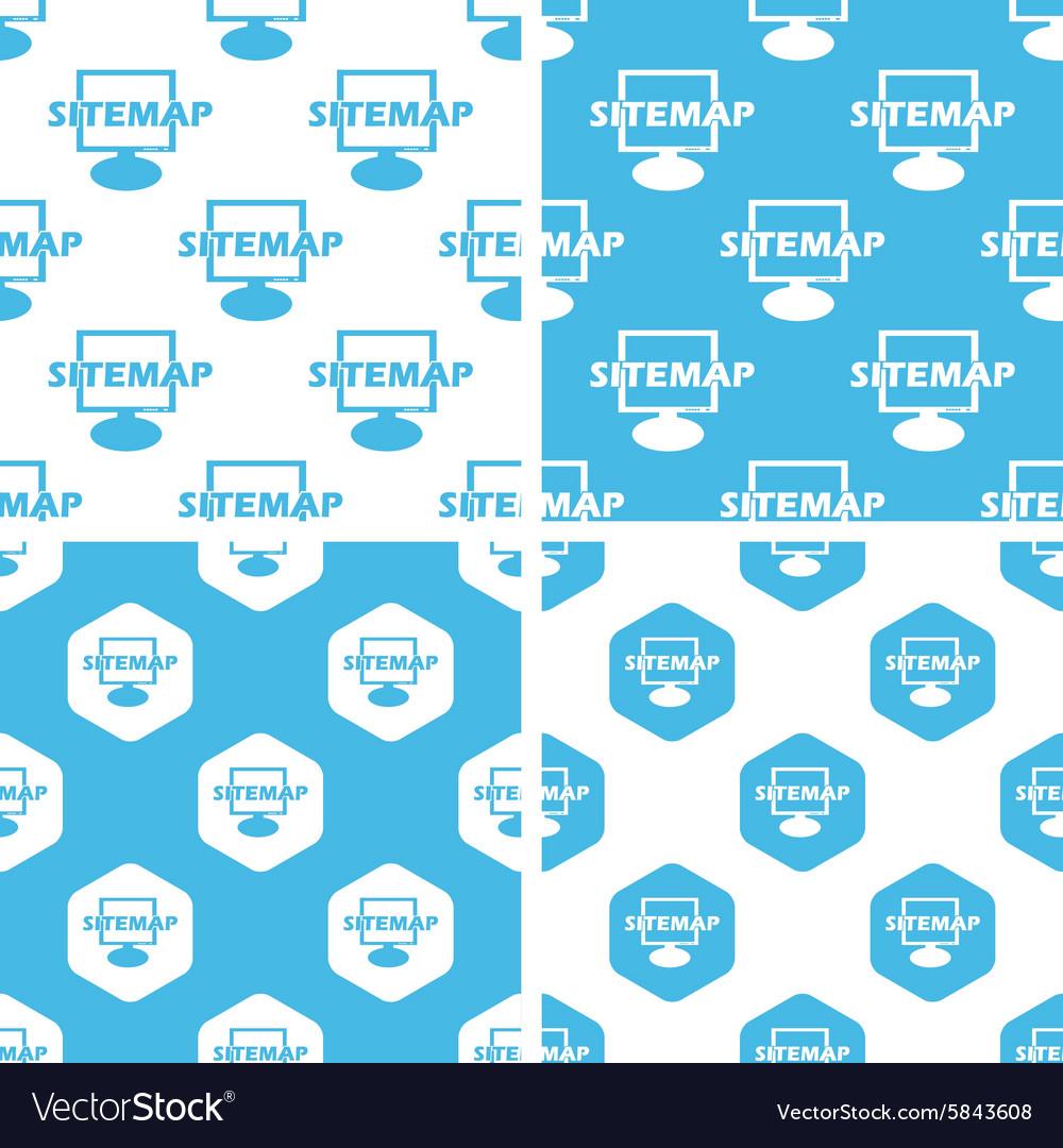 Sitemap patterns set
