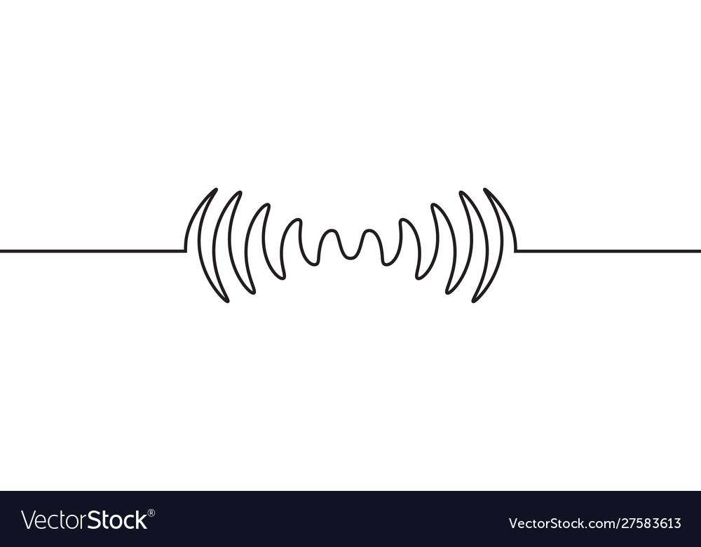 Audio sound wave music waveform pulse audio