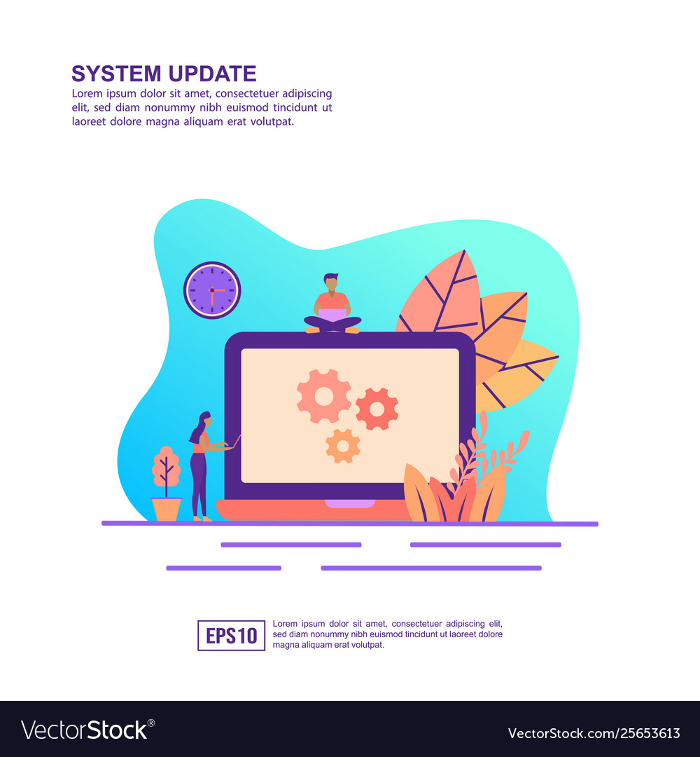 Concept system update modern conceptual for