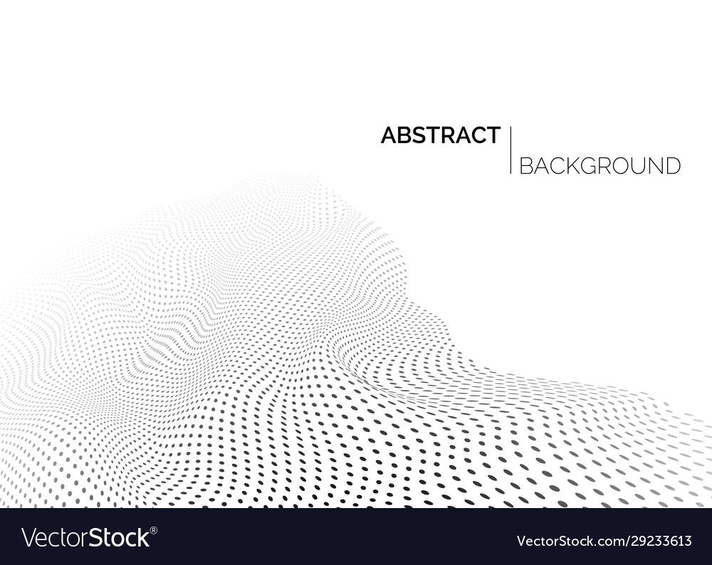 Technology futuristic landscape abstract black