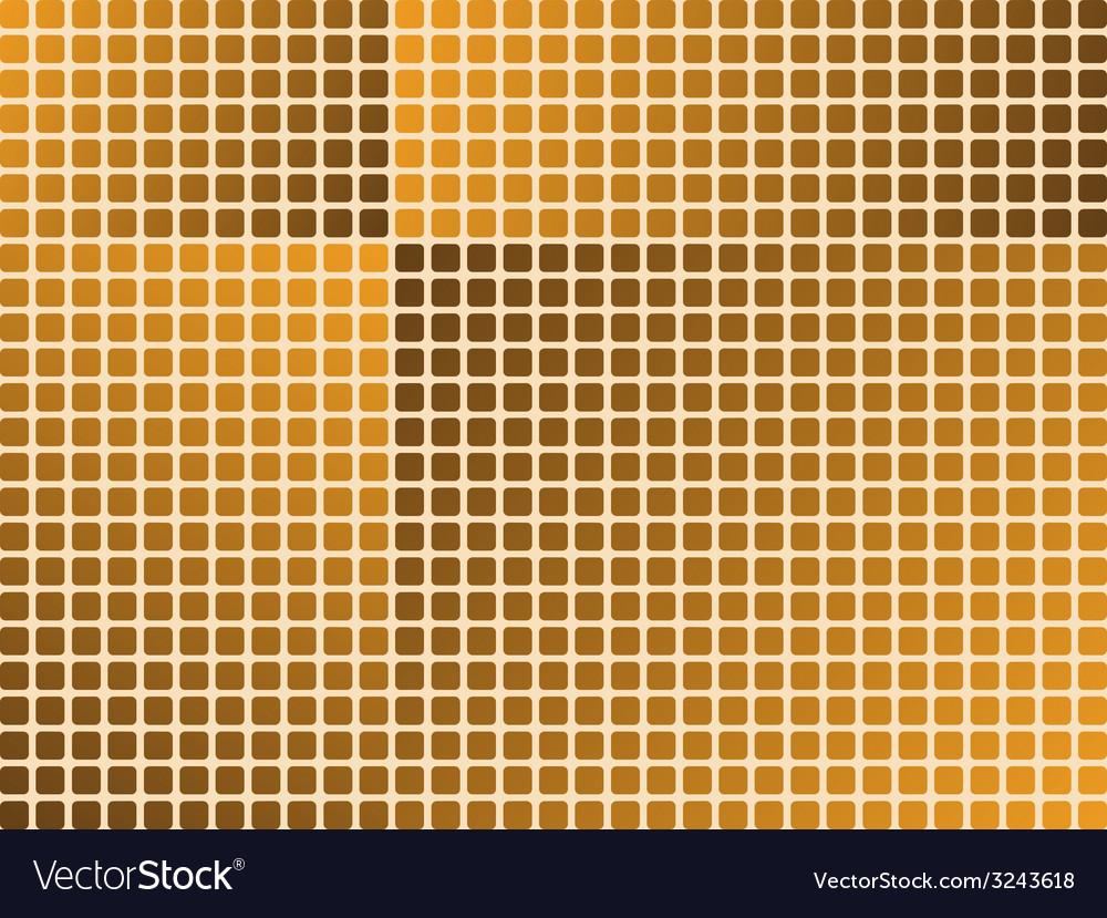 Orange tiles - seamless wallpaper