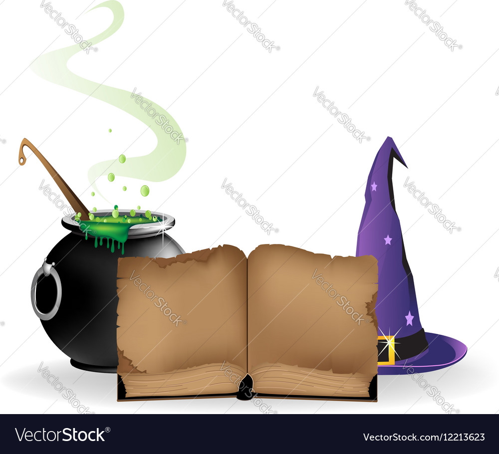 Magical equipment vector image