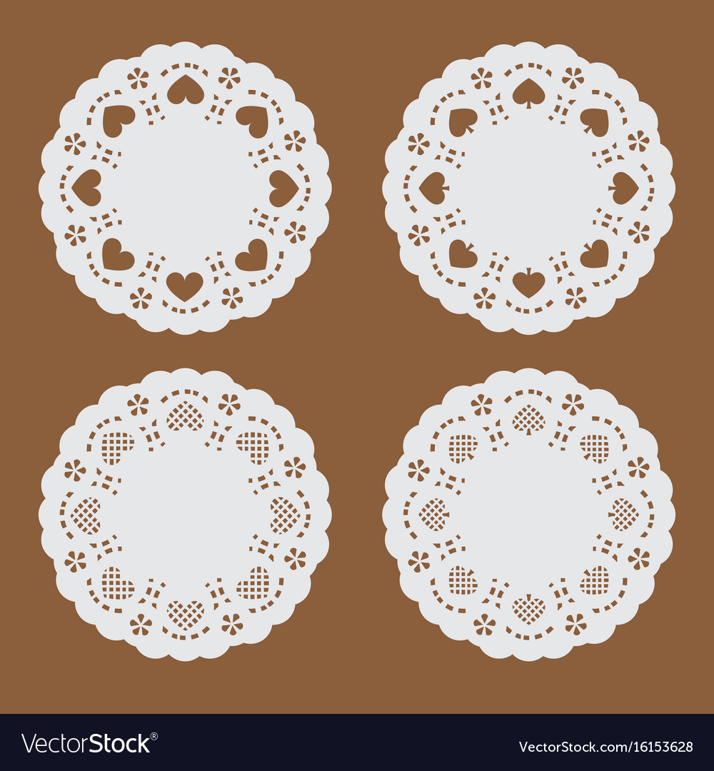 Coaster paperperforated paper texture banner