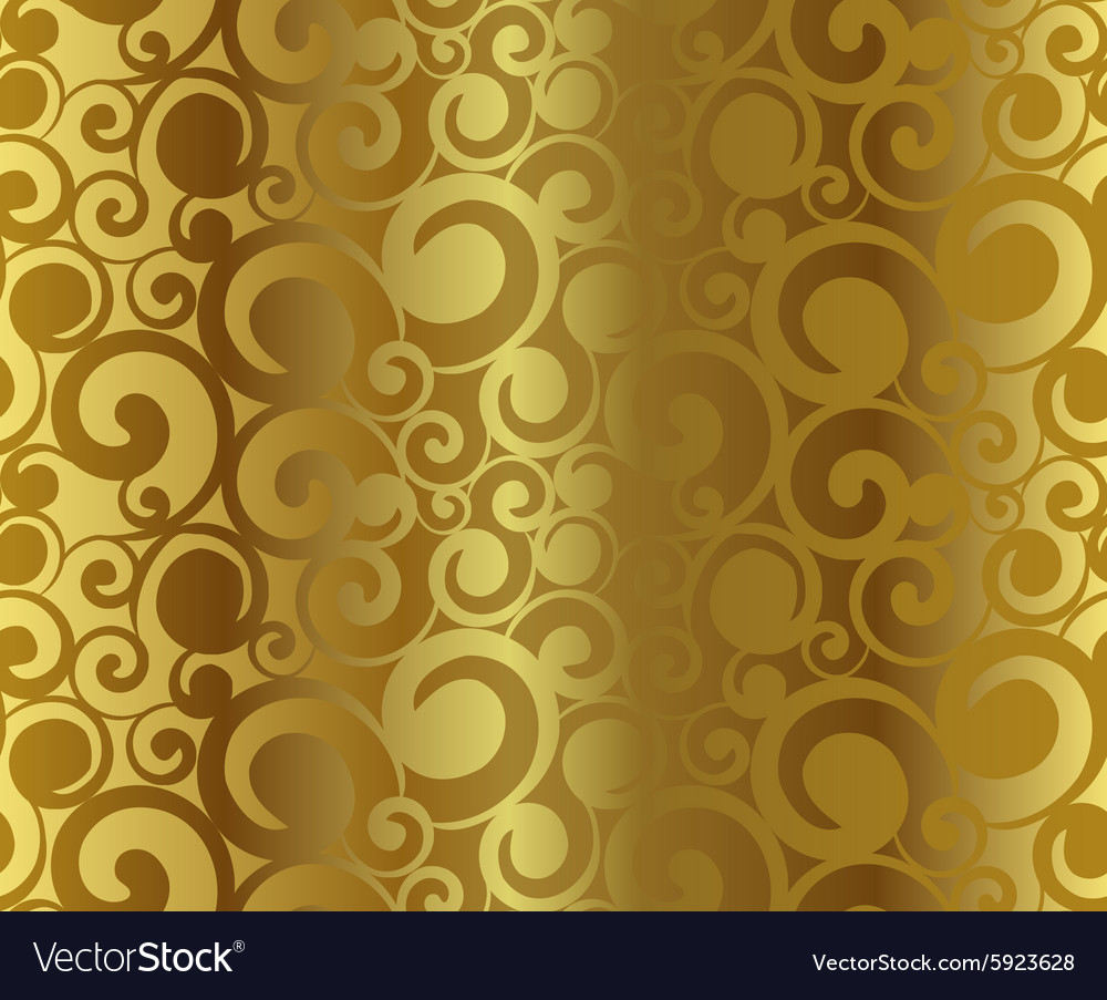 Gold vector image