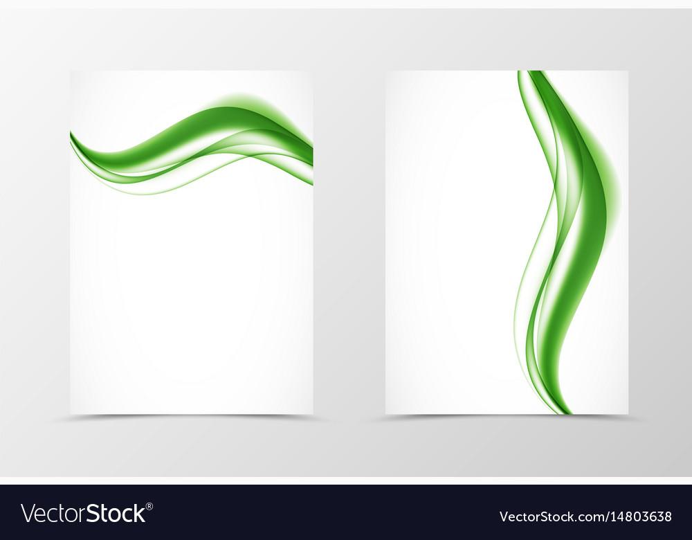 Front and back elegant design flyer template