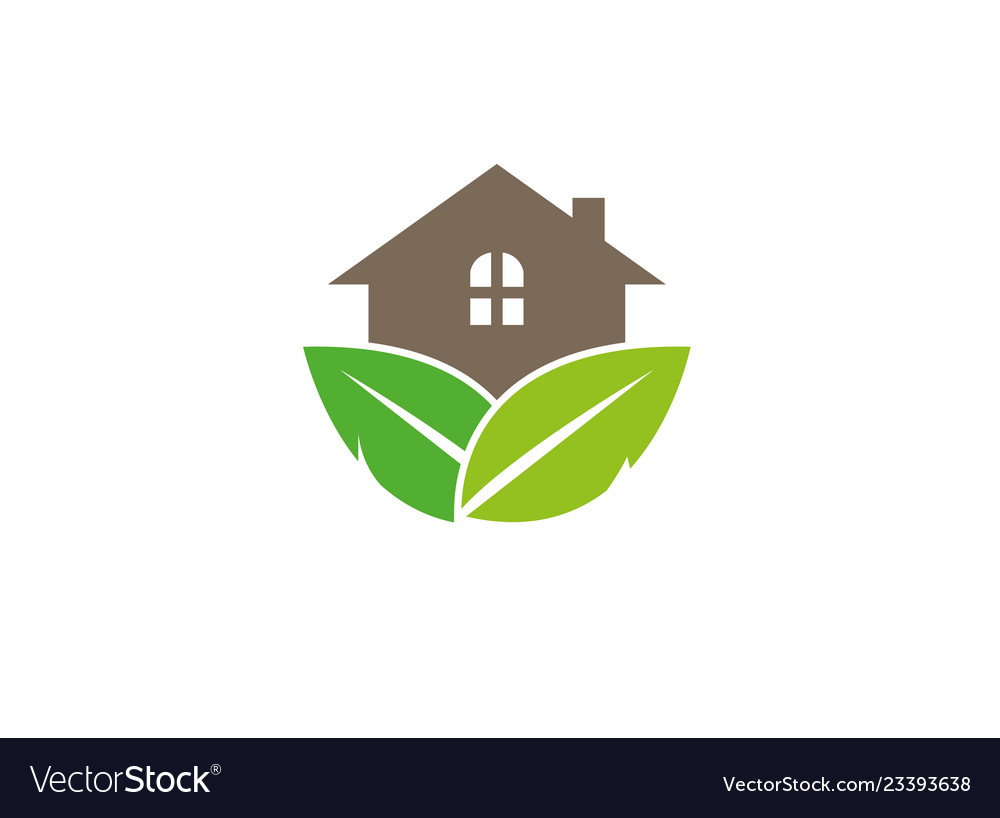Home house plant logo