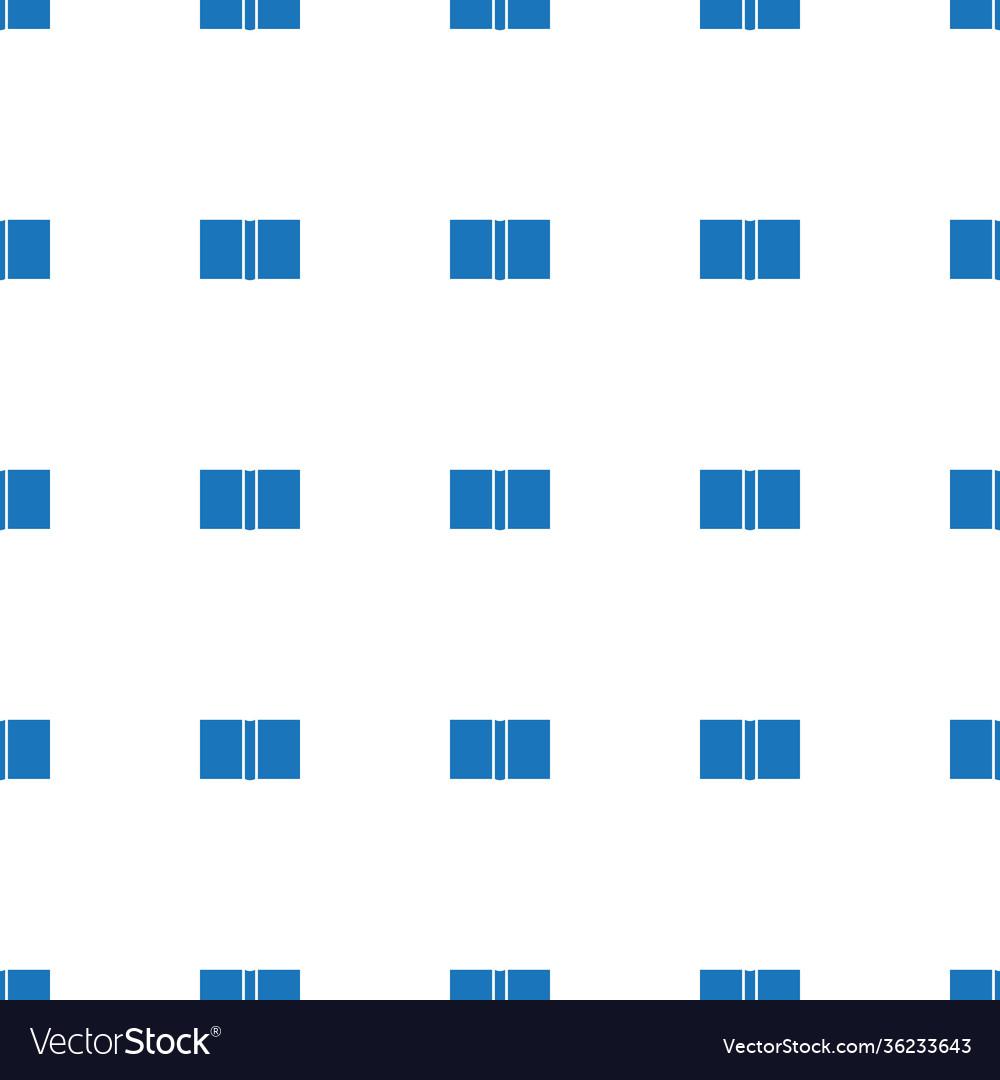 Book icon pattern seamless white background