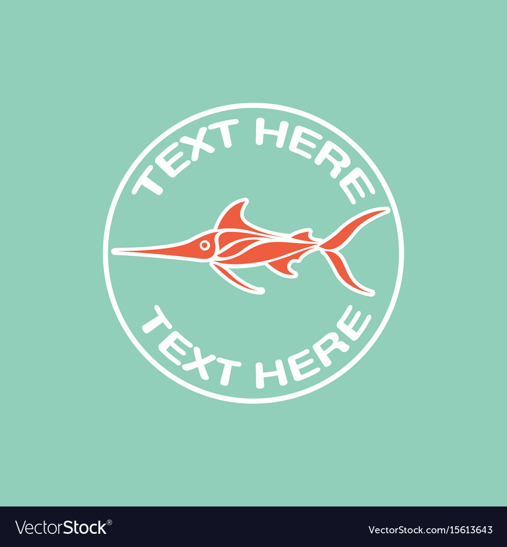 Deep sea fish logo icon design