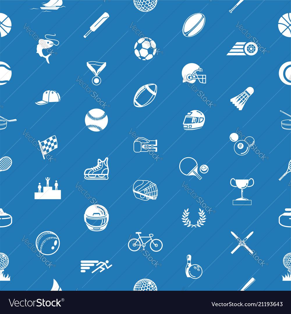 Seamless sport background texture