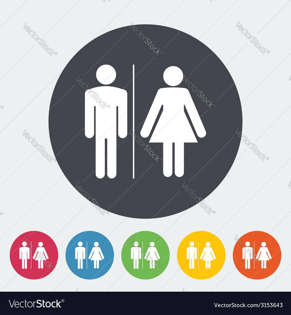WC single icon