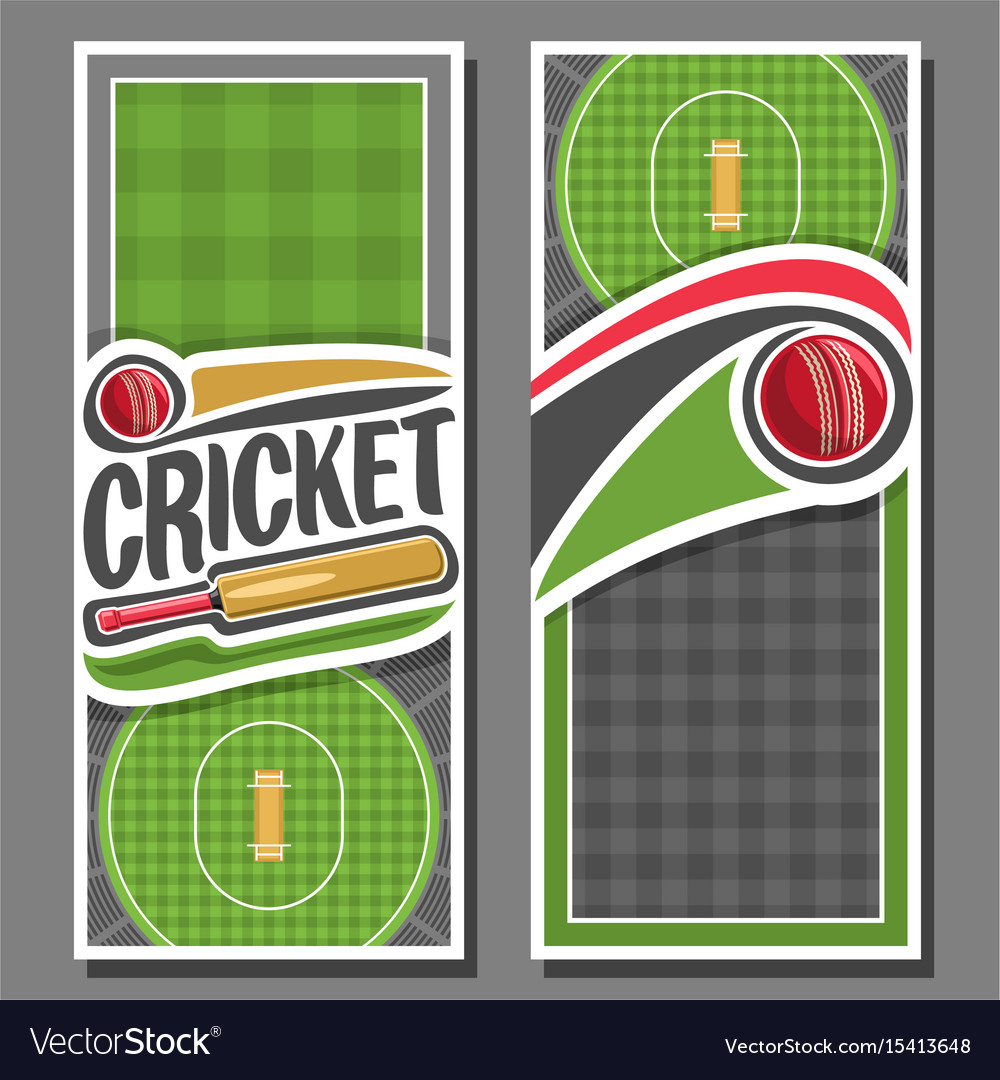 Banners for cricket game