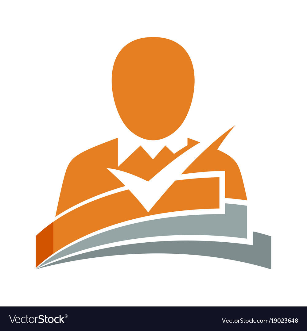 Icon For Curriculum Vitae Applicants Royalty Free Vector