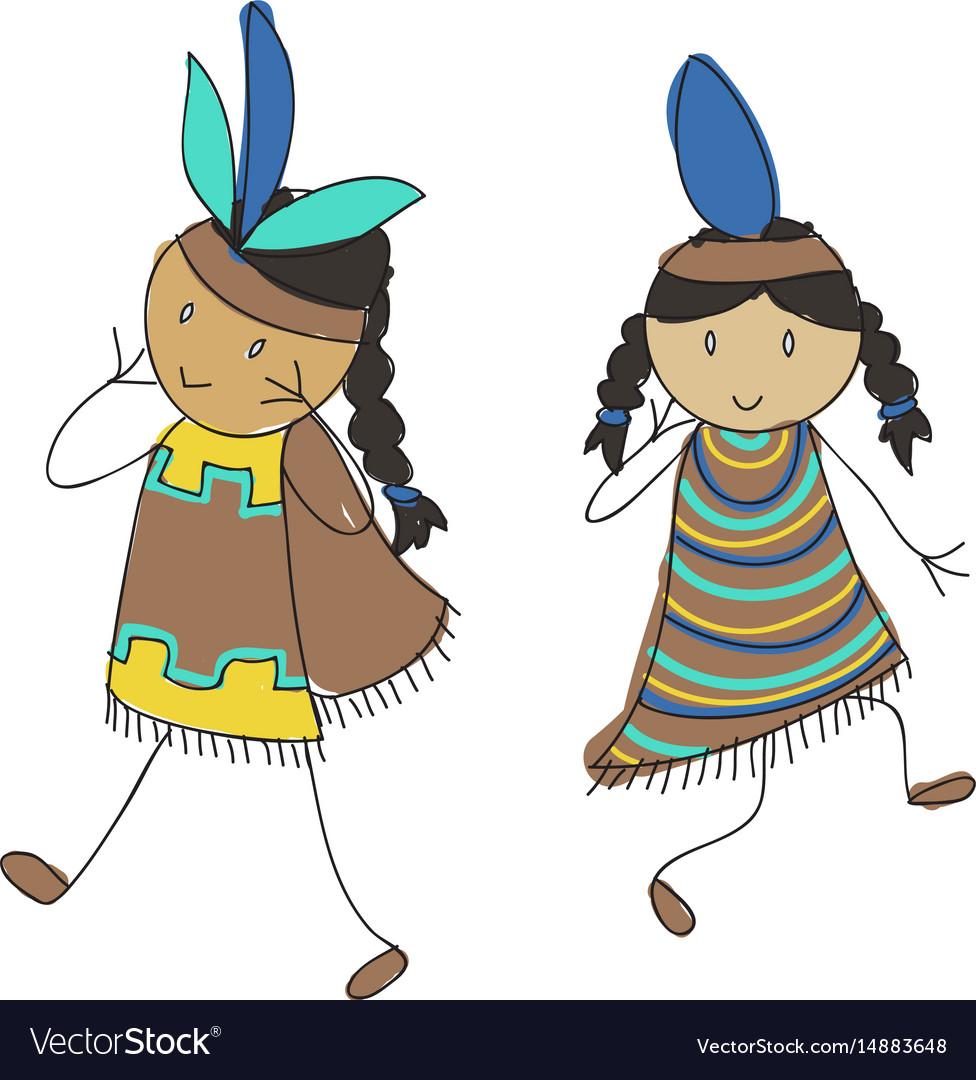 Native american kids