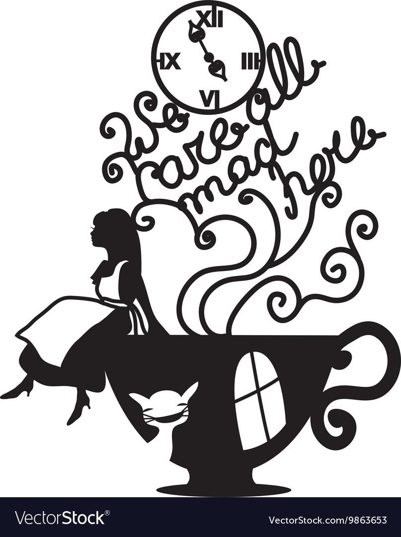 Wonderland Royalty Free Vector Image