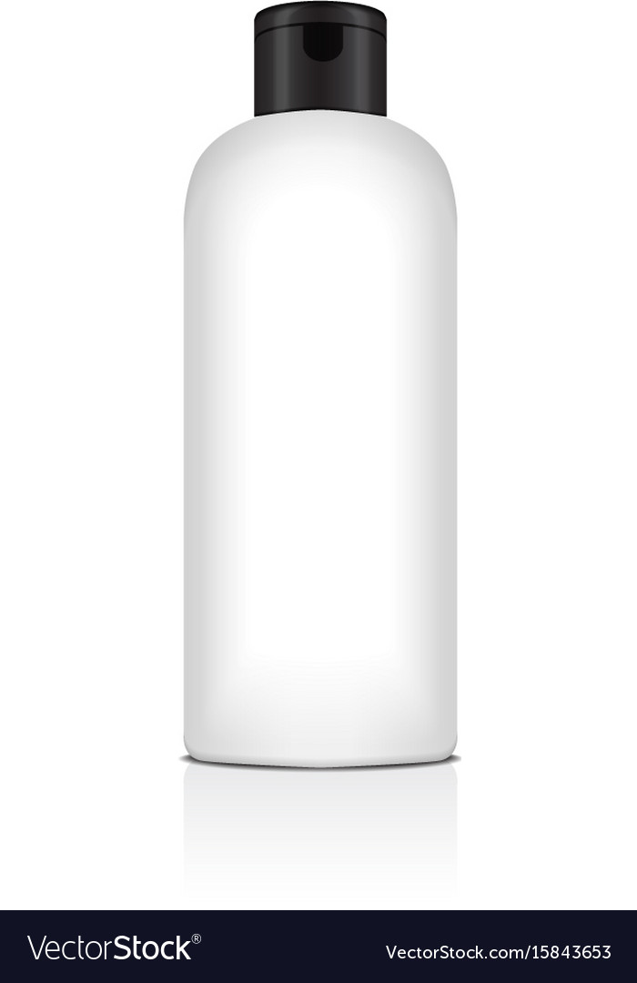 Blank plastic bottle for shampoo lotion