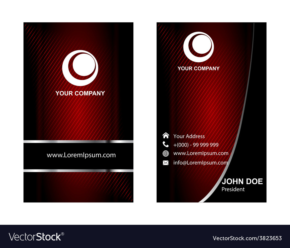 Creative business card set or visiting card set ve creative business card set or visiting card set ve vector image reheart Gallery