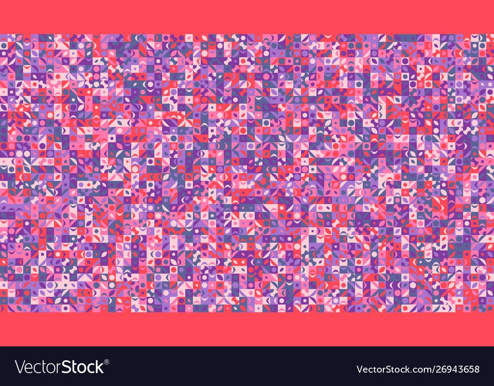 Colorful random curved shape pattern website