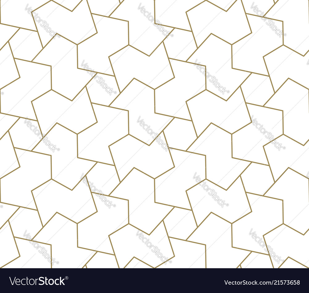 Modern simple geometric seamless pattern