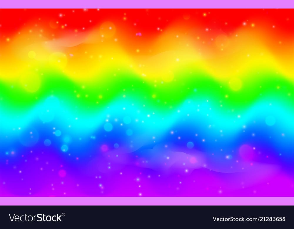 Rainbow wave background mermaid unicorn galaxy