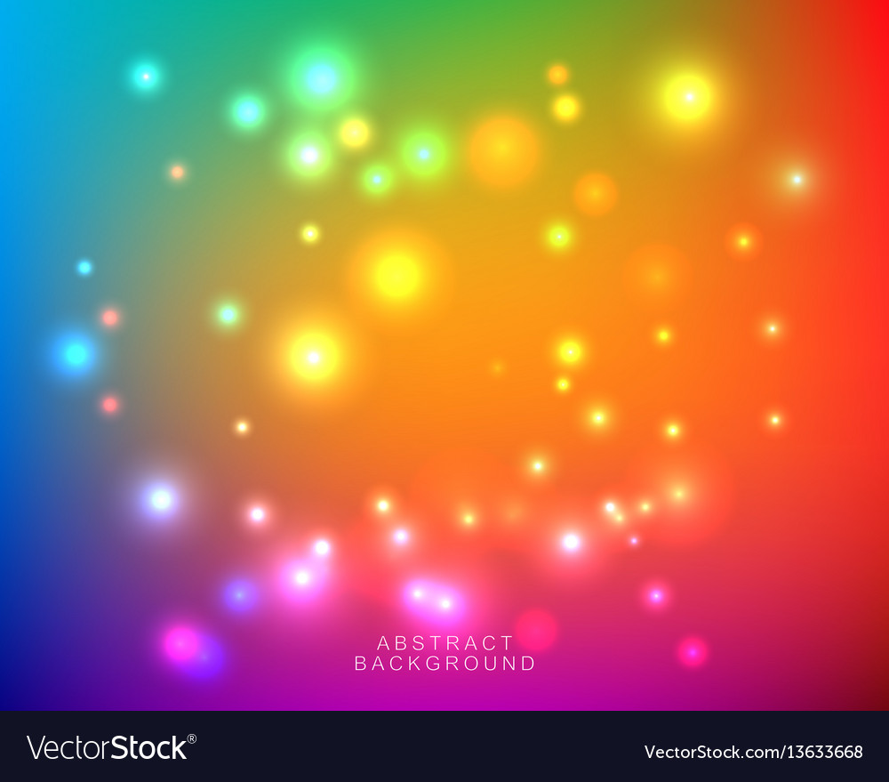 Abstract blurred bright colorful background