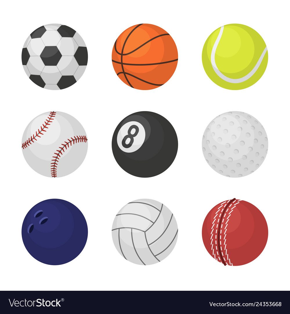 Ball collection sports equipment game balls