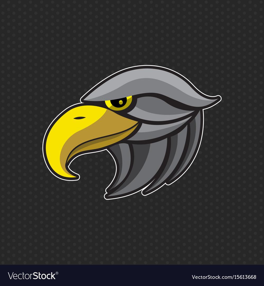 Eagles logo design template eagles head icon
