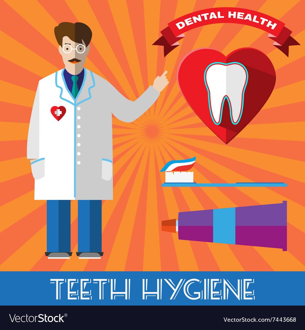 Teeth Hygiene Banner