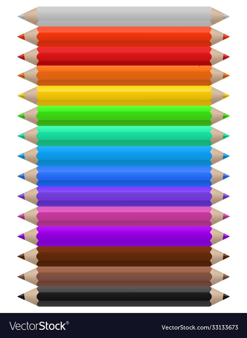 Color pencils set multicolor pencil office