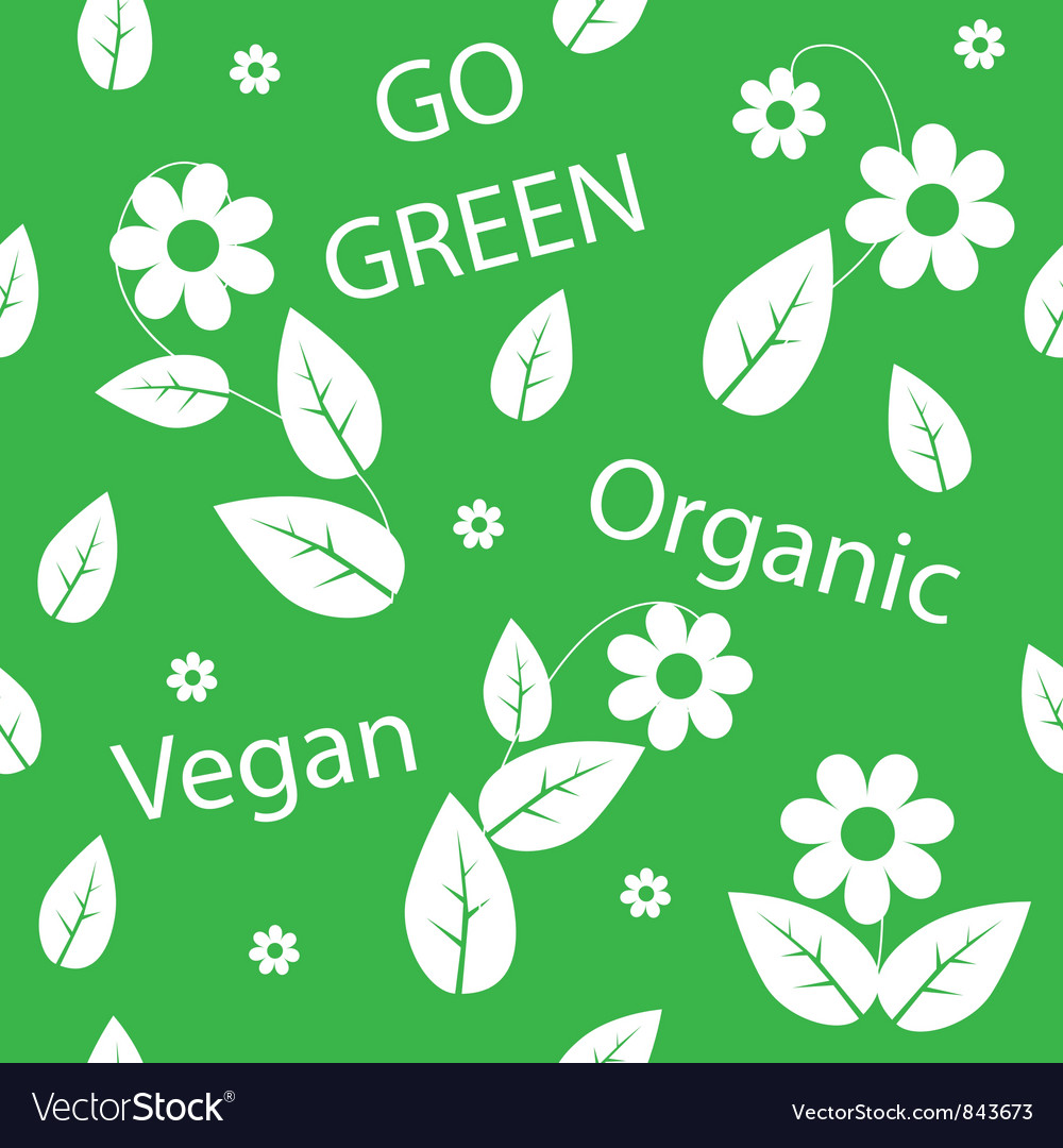 Go green background