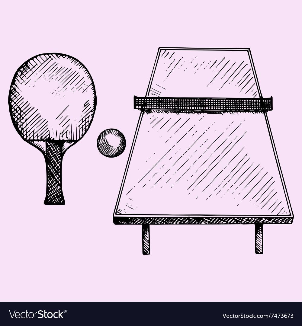 Ping Pong tennis table