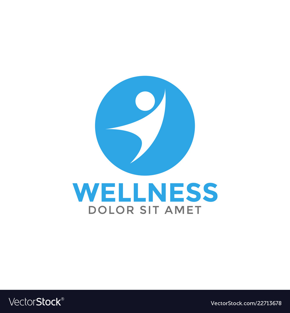 Wellness graphic design element template
