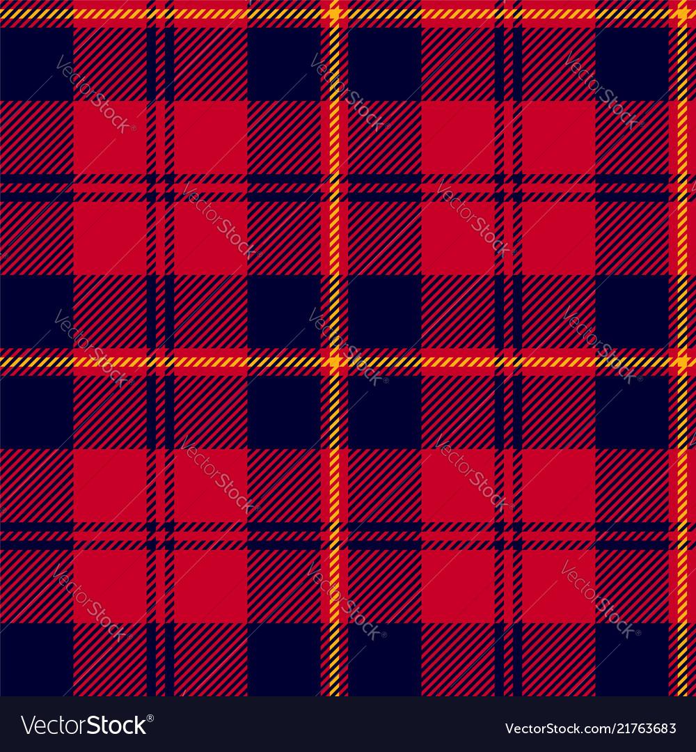 Scottish plaid classic tartan seamless pattern