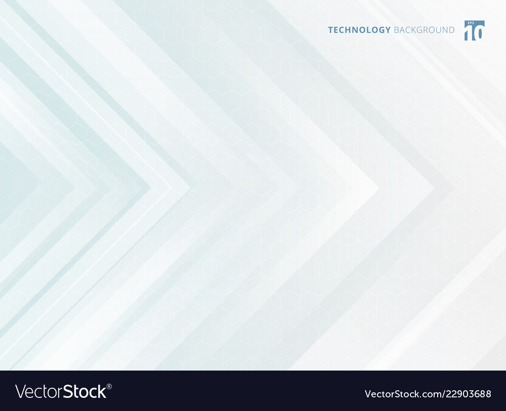 Abstract geometric white arrows overlapping