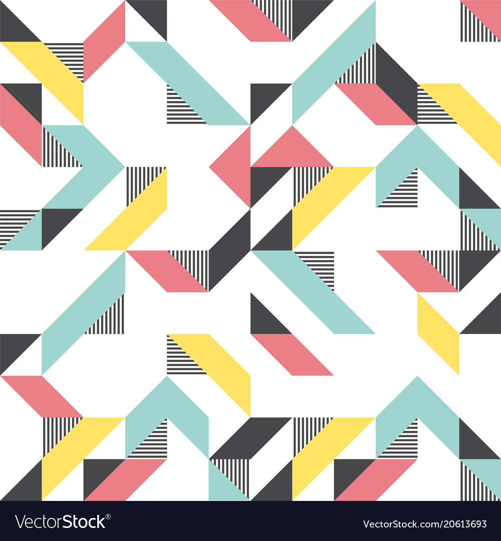 Modern background with triangles and lines