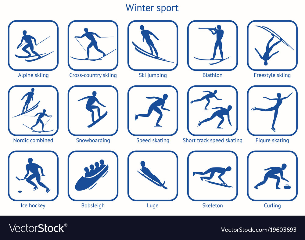 Winter sport and game