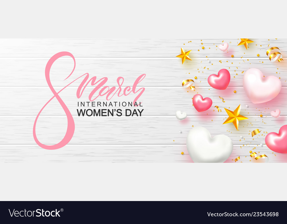 8 march happy women s day banner beautiful