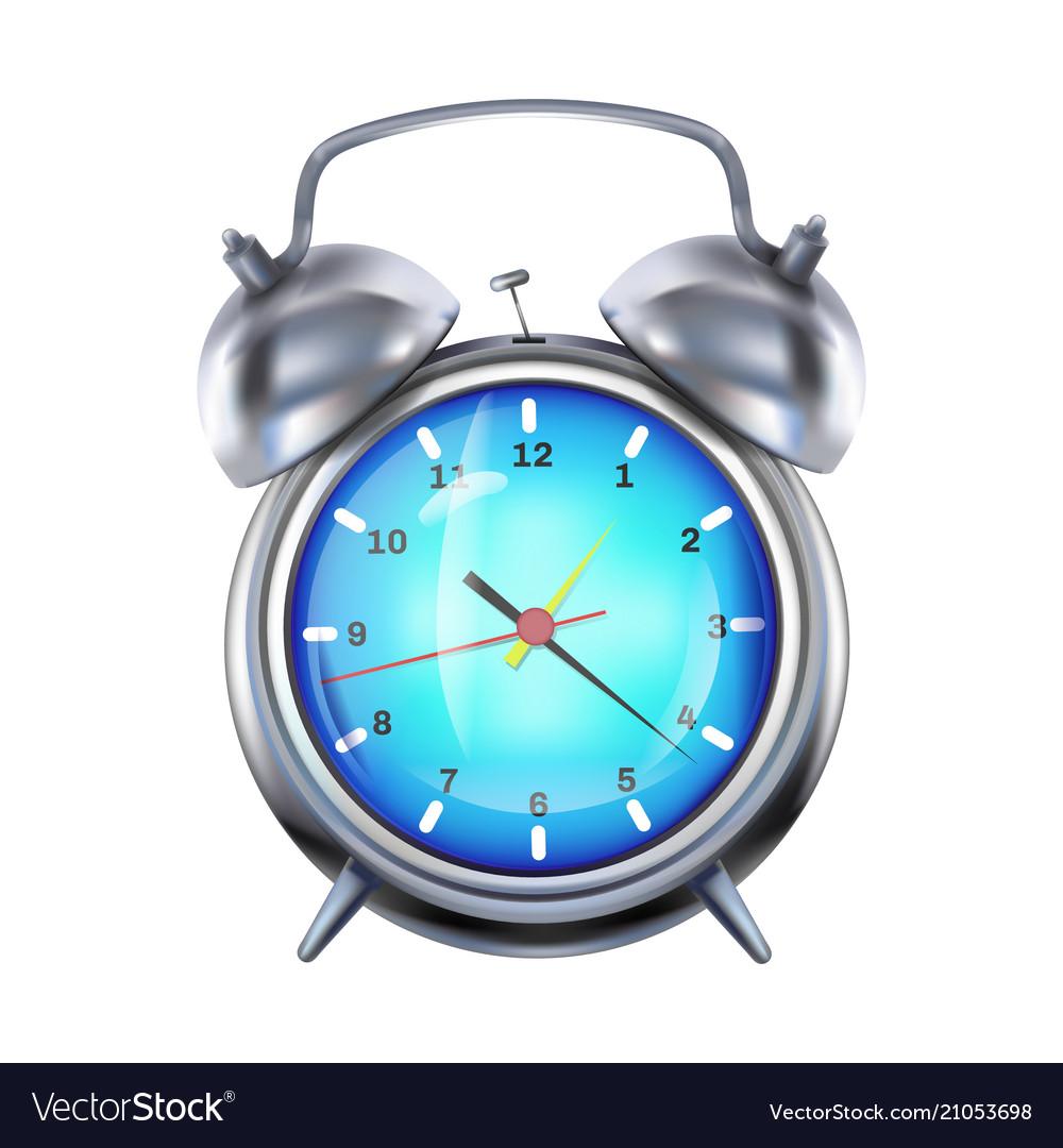 Alarm clock 3d realistic