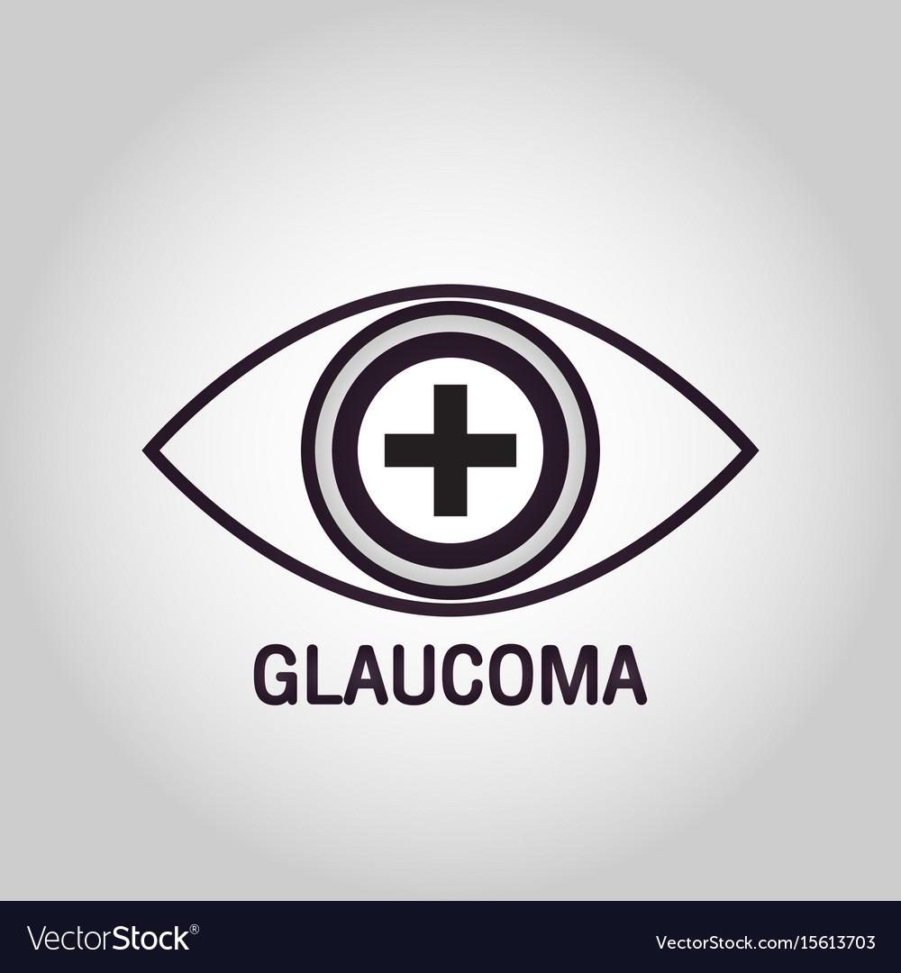 Glaucoma logo icon design