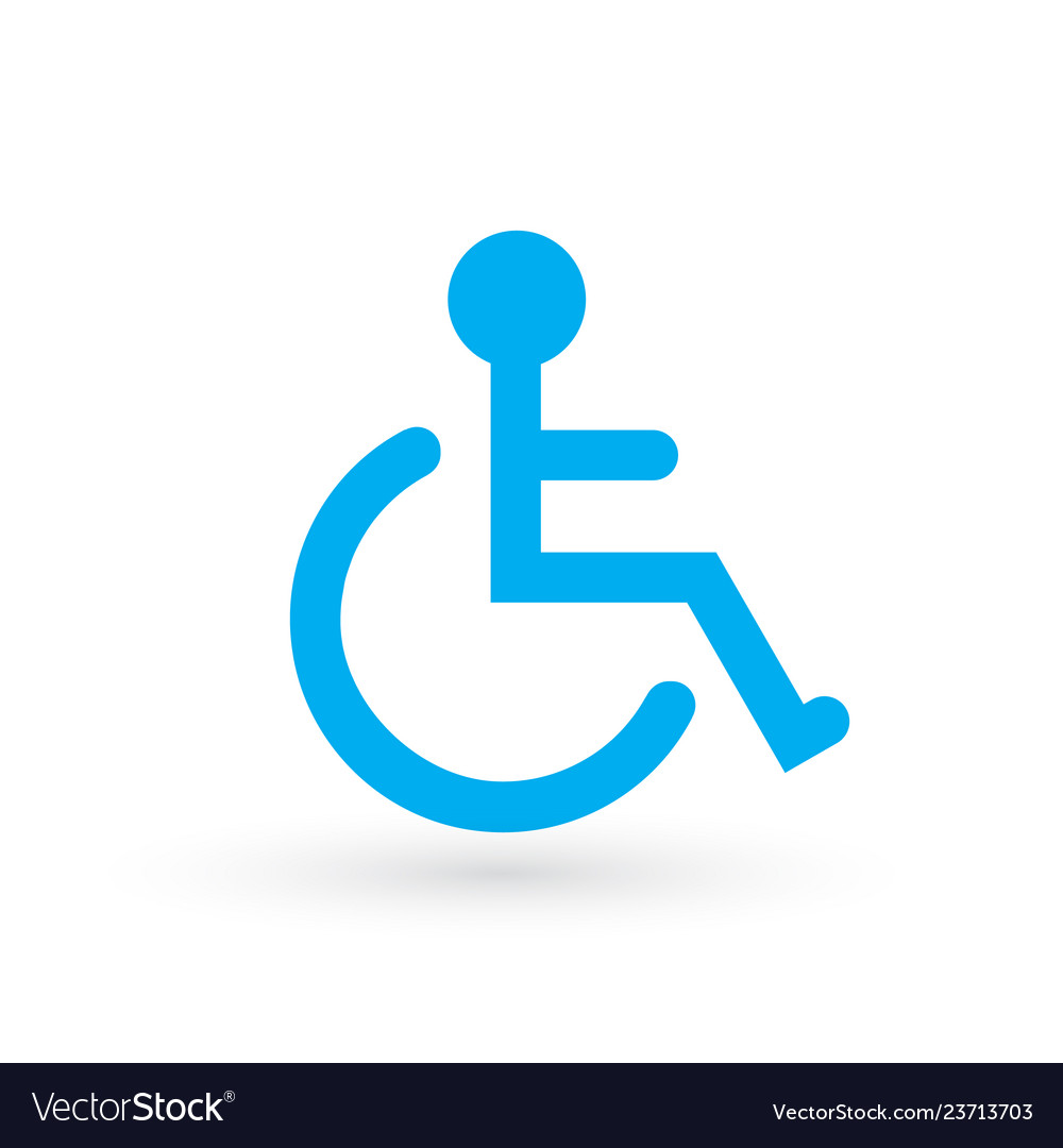 Wheelchair handicapped or accessibility parking